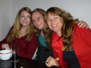 Lilian, Sandra, Christine